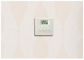Termostat pozwalający utrzymac odpowiednią temperaturę w pomieszczeniu | pompa ciepła | kawer.pl