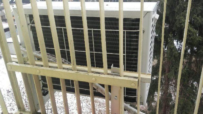 klimatyzacja w mieszkaniu w bloku w Skierniewicach