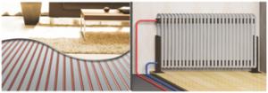 Ogrzewanie podłogowe połączonę z pompa ciepła | kawer.pl